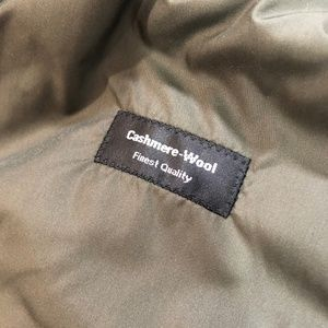 Hugo Boss Jackets & Coats - Hugo Boss 40 Cashmere Bomber Jacket Olive Green